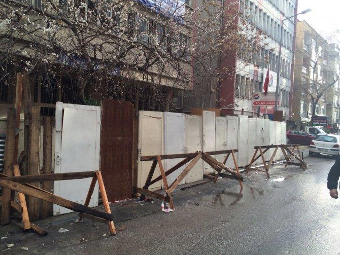 Ankara Büyükşehir Belediyesi eski binasının yıkımıyla ilgili soru önergesi