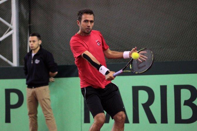 Türkiye-Bulgaristan Davis Cup serisinin ilk günü tamamlandı