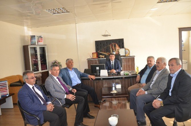 ATSO Başkanı Uslu, Kahta'da İncelemelerde Bulundu