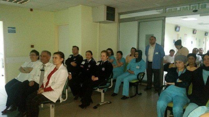 Bafra Ağız Ve Diş Sağlığı Merkezi'nde Eğitim
