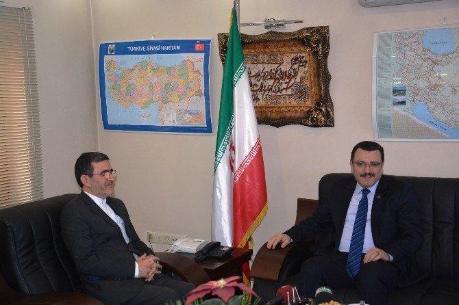 Başkan Genç'ten İran Başkonsolosu Kondori'ye Ziyaret