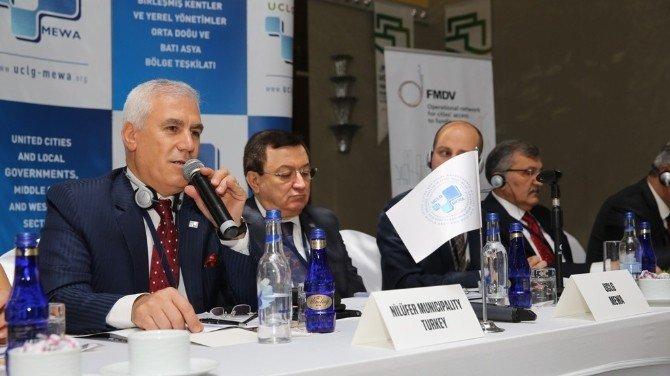 Uclg-mewa 1. Yerel Yönetişim Komitesi Nilüfer'de Toplandı