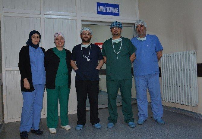 Bitlis'in İlk Kapalı Rahim Ameliyatı Tatvan'da Yapıldı