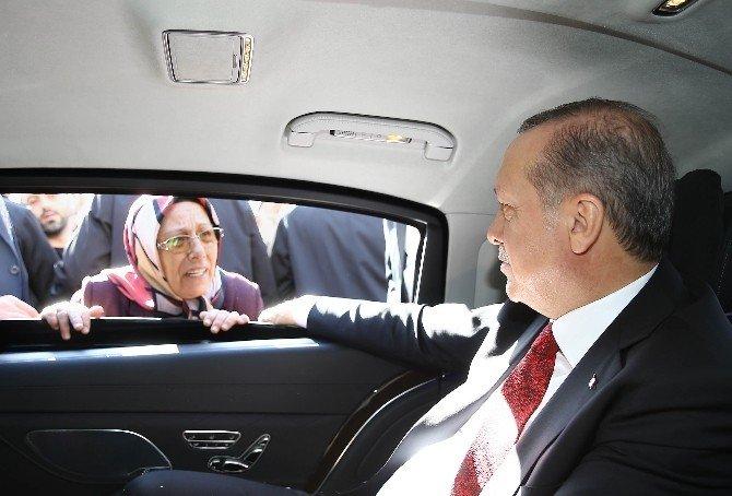Cumhurbaşkanı Erdoğan'ın Konvoyunu Durdurup Selfie Yaptı