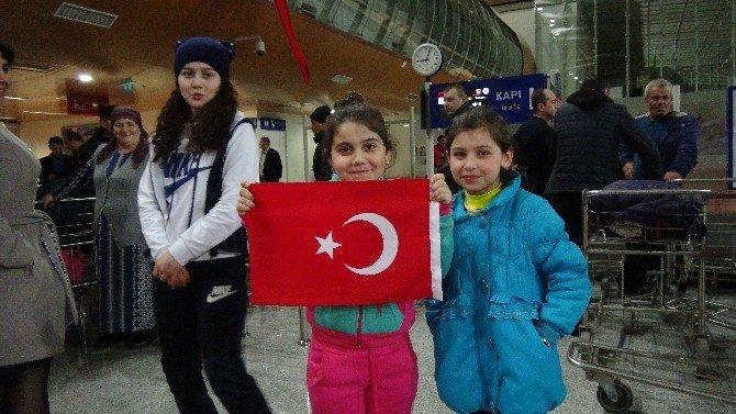 Ahıska Türklerinin İkinci Kafilesi Erzincan'a Ulaştı