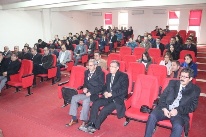 Milli Eğitim Müdürü Edip, Okul Müdürleri İle Toplantı Yaptı