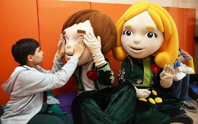 EXPO Maskotları ECE-efe, Başkent'te