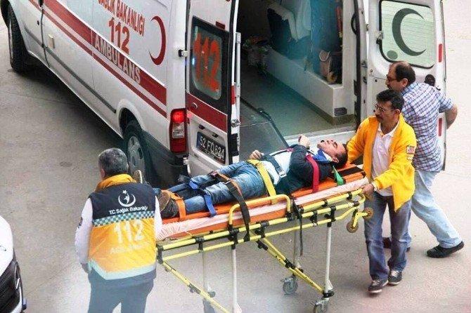 Fatsa'da İş Kazası: 1 Yaralı