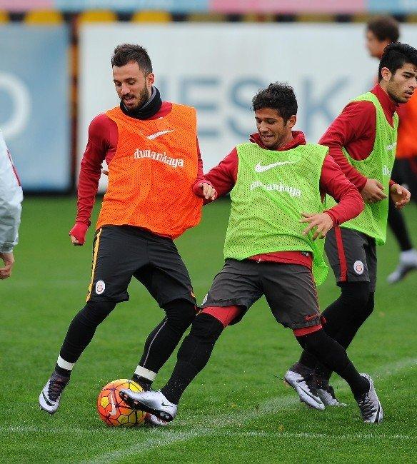 Galatasaray, Medipol Başakşehir Maçının Hazırlıklarına Başladı