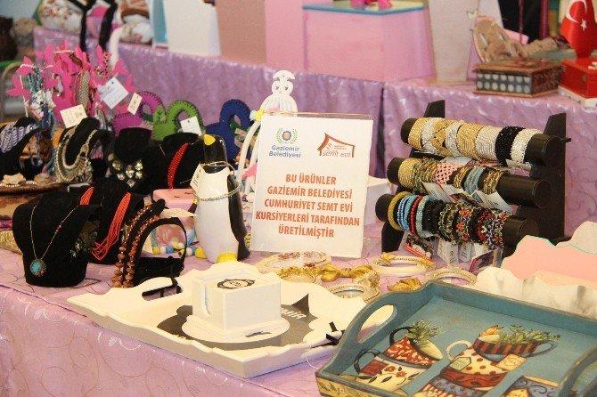 Kadın Emeği Ürünler, Kadın Emeği Fuarı'nda