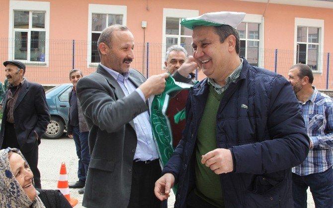 Başkan Aksu'dan Mahalle Ziyaretleri