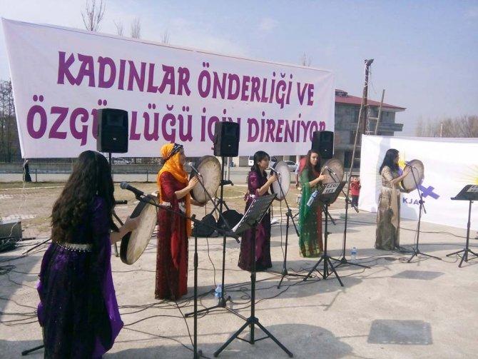 Iğdır'da 8 Mart Dünya Kadınlar Günü kutlandı