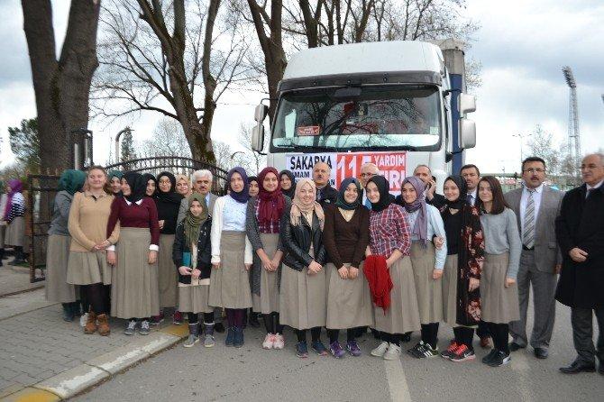 İmam Hatip Okullarından Suriye'ye 2 Tır Dolusu Yardım Gönderildi
