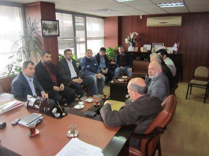 İzmir İl Dernekler Müdürlüğü Destek Ziyaretçileriyle Doldu Taştı