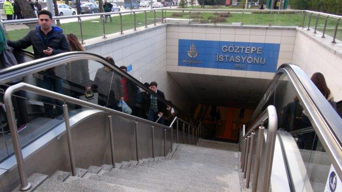 Metroda bomba şakası yolcuları bayılttı