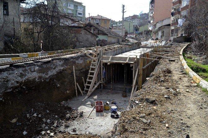 Karabük'te Alt Yapı Çalışmaları