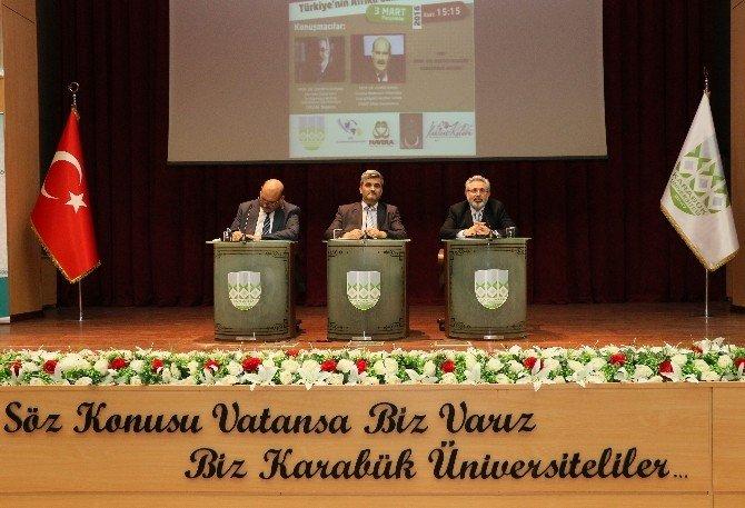 """KBÜ'de """"Ortadoğu Ve Afrika'nın Dünü, Bugünü Ve Geleceği"""" Konferansı"""