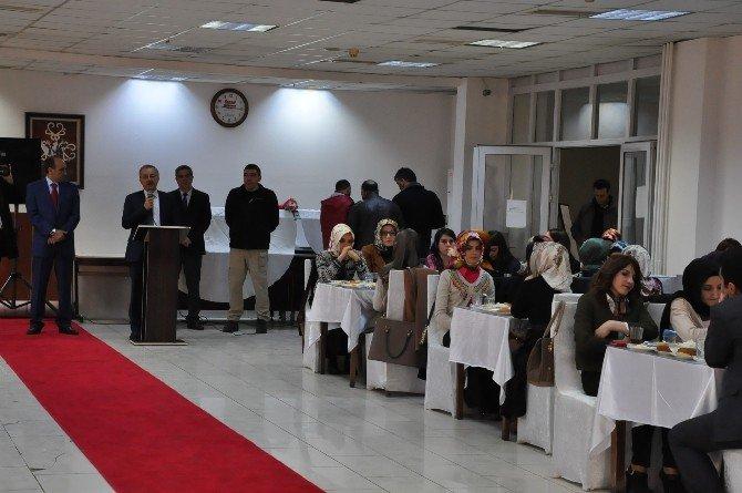 Kars Valisi Günay Özdemir Aday Öğretmenler Bir Araya Geldi