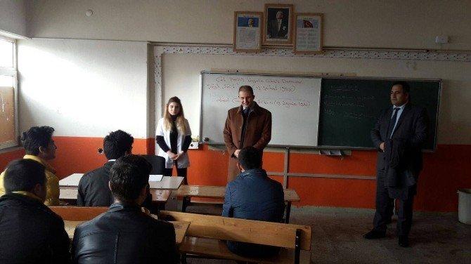 Kaymakam Göktürk, Okulları Ziyaret Etti