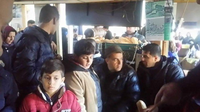 Kaçak Göçmenleri Kazdağları'na Bıraktılar