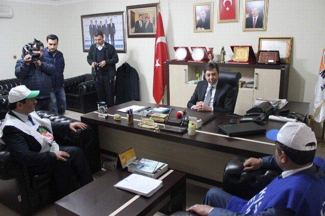 'Kiralık İşçi' Yasa Tasarısının Durması İçin Kırşehir'de Sendikalar İmza Kampanyası Başlattı