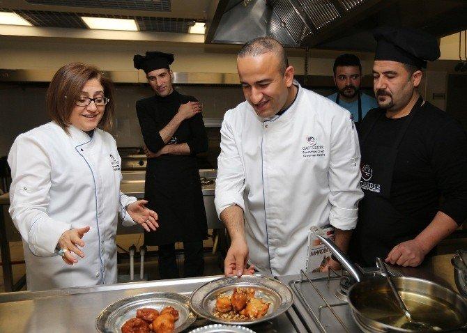 UNESCO Tarafından Koruma Altına Alınan Gaziantep Mutfağı, Altyapısını Güçlendirmek İçin, İşe Eğitimle Başladı
