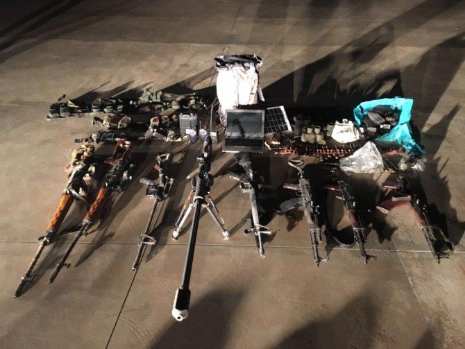 Mardin Valiliği: Dargeçit'te keskin nişancı silahları yakalandı
