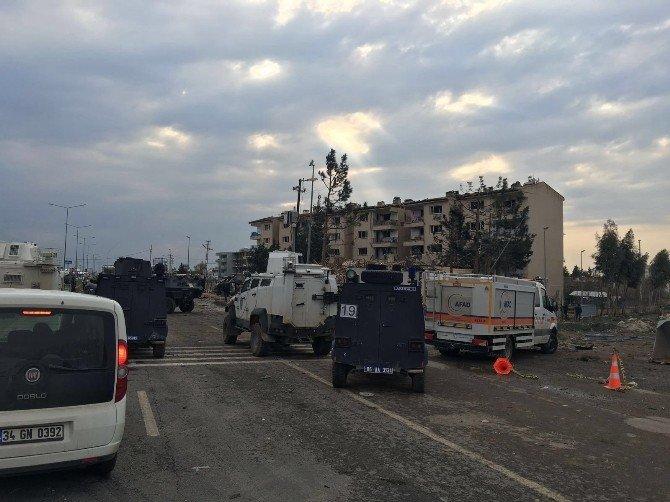 Nusaybin'de Eş Zamanlı Terör Saldırısı: 2 Şehit, 35 Yaralı