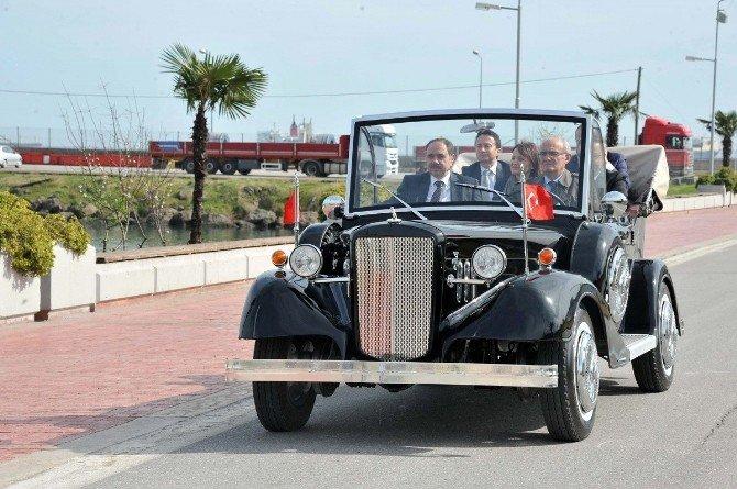 Atatürk'ün Makam Aracının Benzeri Samsun'da Yapıldı