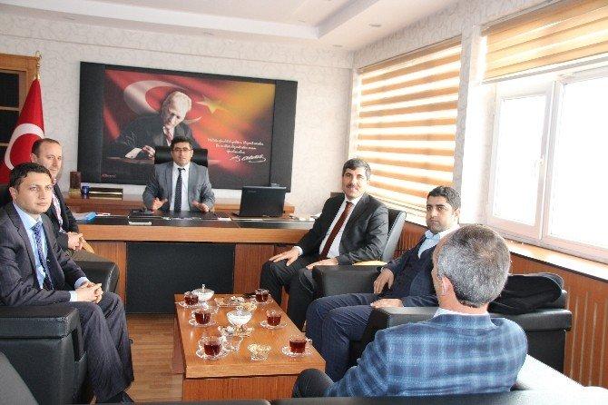 Başkan Asya'dan Kaymakam Çetin'e Ziyaret