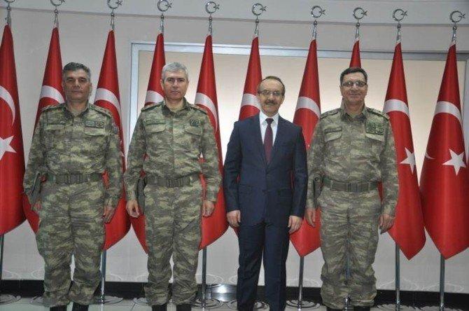 Jandarma Genel Komutanlığı Kurmay Başkanı Muş Valisini Ziyaret Etti