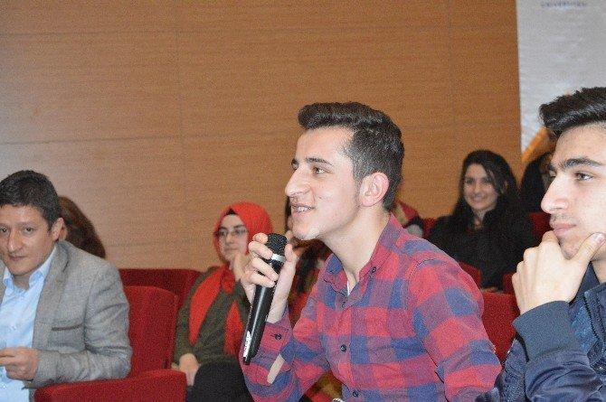 Hitit Üniversitesi Kargı Fen Lisesi'ni Misafir Etti