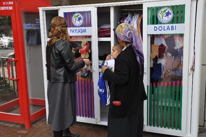 """Gazipaşa Belediyesi'nden """"Paylaşım Dolabı"""" Projesi"""