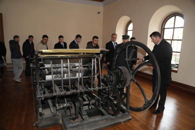 Sivas Valisi Barut Kongre Müzesi'ndeki Çalışmaları İnceledi