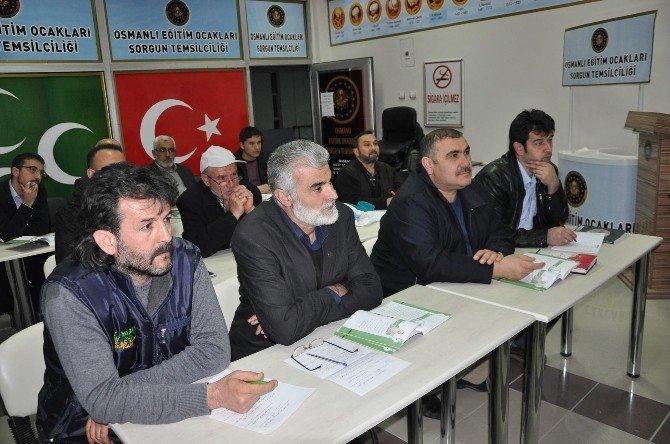Sorgun'da Osmanlıca Kursu Yoğun İlgi Görüyor