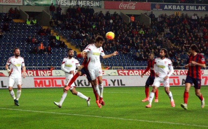 Mersin İdmanyurdu: 0 - Medicana Sivasspor: 0 (İlk yarı)