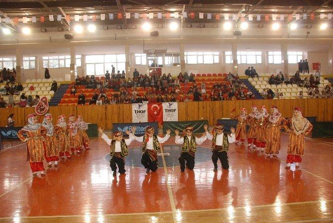 Tokat'ta Okul Sporları Halkoyunları İl Birinciliği Yarışması