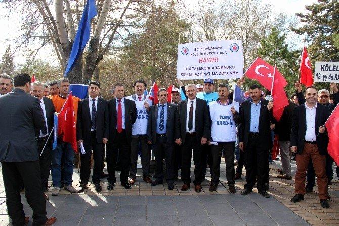 Türk-iş Kayseri İl Temsilcisi İdris Güven: