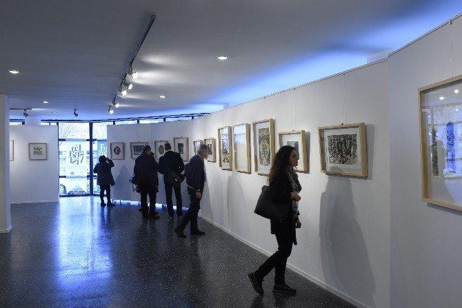 'İstanbul Gravürlerı̇' Sergı̇sı̇ Açıldı