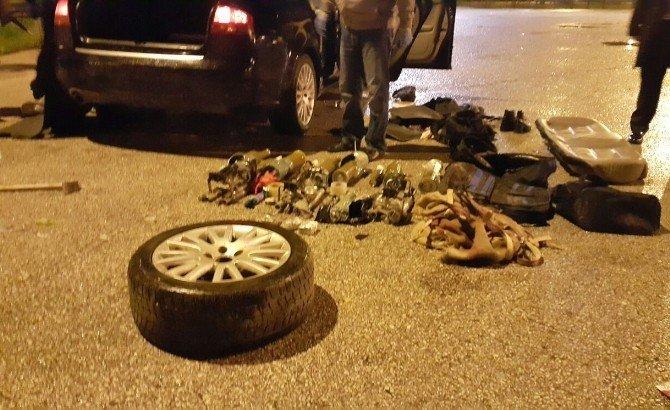 Adana'da Mühimmat Yüklü Araç Ele Geçirildi