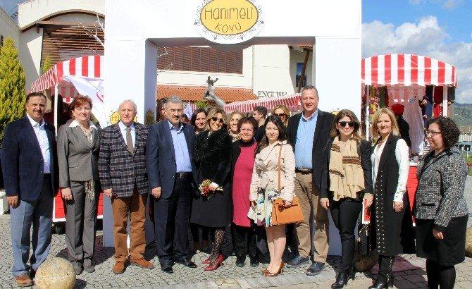 Aydın'da 'Hanımeli Köyü' Açıldı