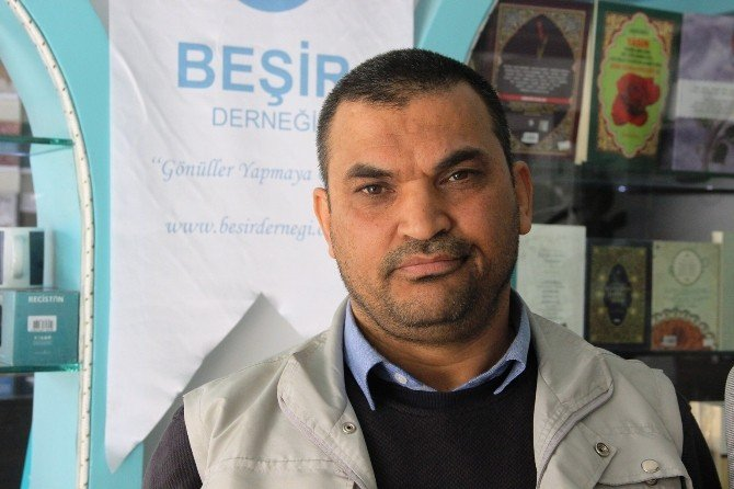 Sınırdaki Türkmenlere 10 Ton Gıda Yardımı