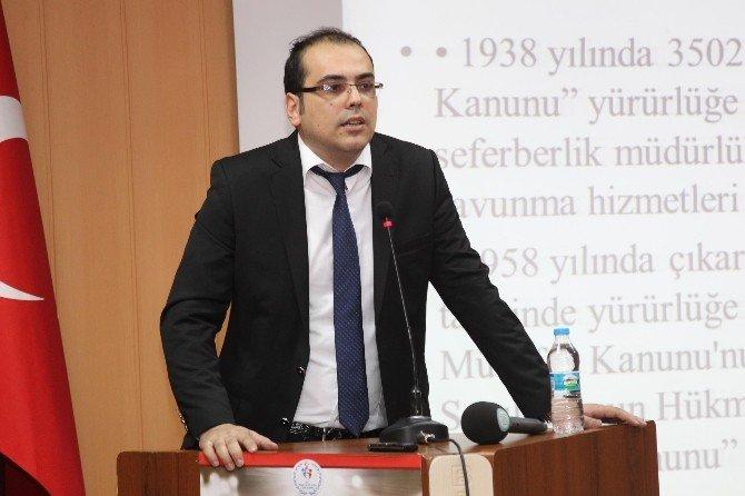 BEÜ'de Sivil Savunma Ve Temel Afet Bilinci Konferansı