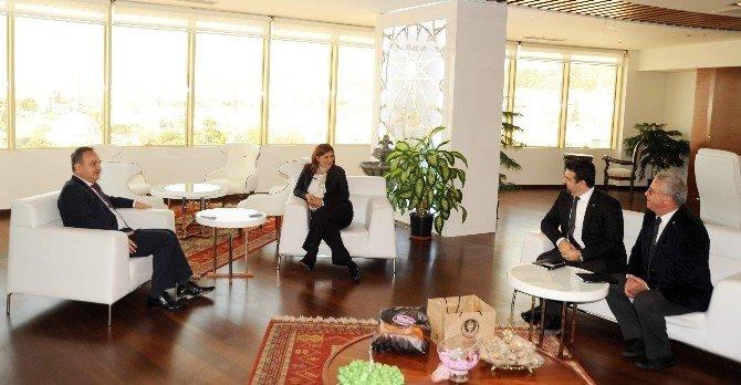 TED Genel Başkanı Pehlivanoğlu Aydın'da Ziyaretlerde Bulundu