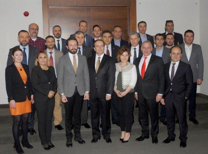 Egafed Üyeleri Mart Ayı Yönetim Kurulu Toplantısı İçin Eskişehir'de Buluştu