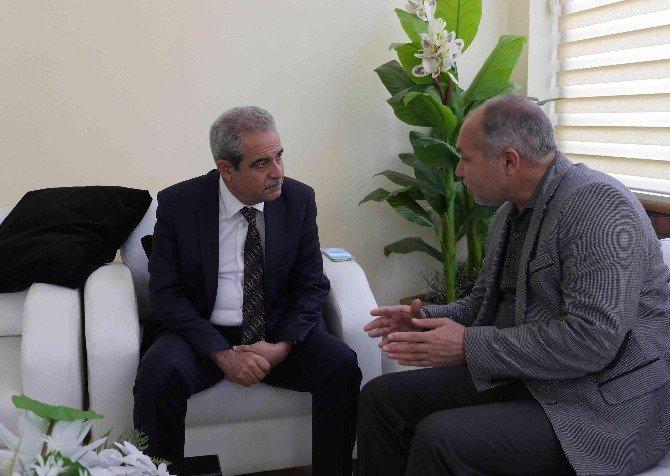Haliliye Belediye Başkanı Fevzi Demirkol Vatandaşların Sorunlarını Dinledi
