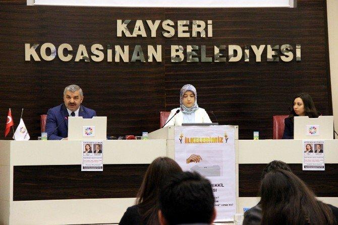 Kayseri Küçük Millet Meclisi Başkan Çelik'i Ağırladı