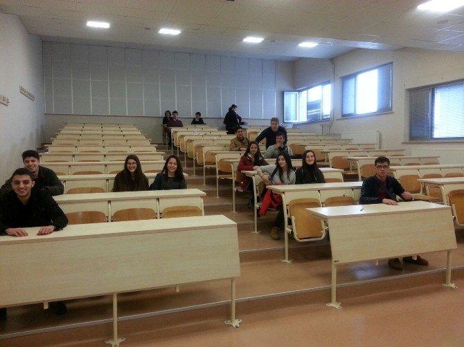 Kültürlü Öğrenciler Meslekleri Yerinde Öğreniyor