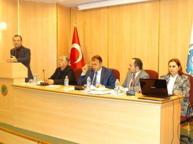 Arsin OSB'de Mali Genel Kurul Yapıldı