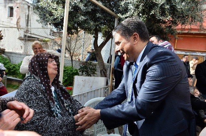 Başkan Uysal, Haşim İşcan Mahalle Sakinleriyle Buluştu